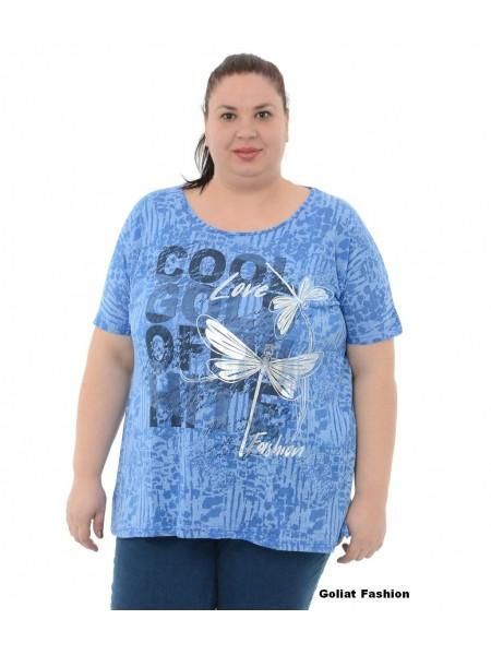 Tricou dama marime mare tricou10gfd