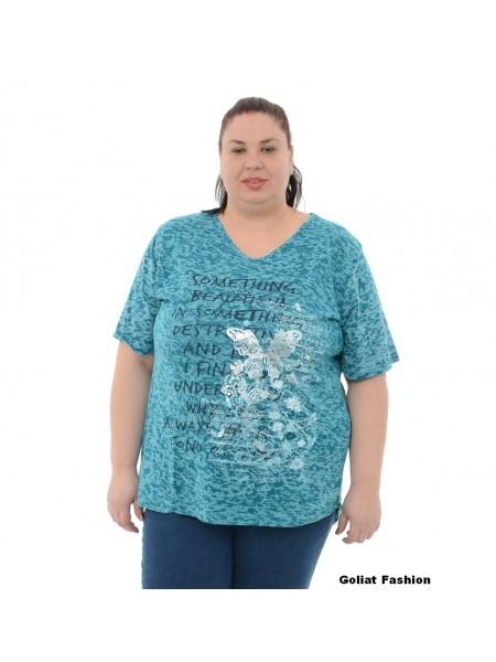 Tricou dama marime mare tricou8gfd