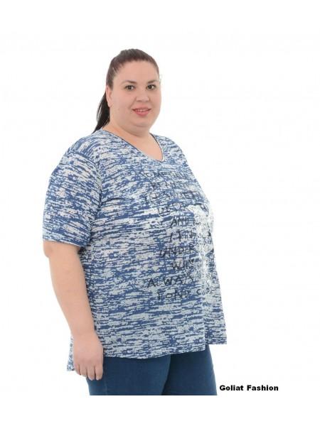 Tricou dama marime mare tricou9gfd