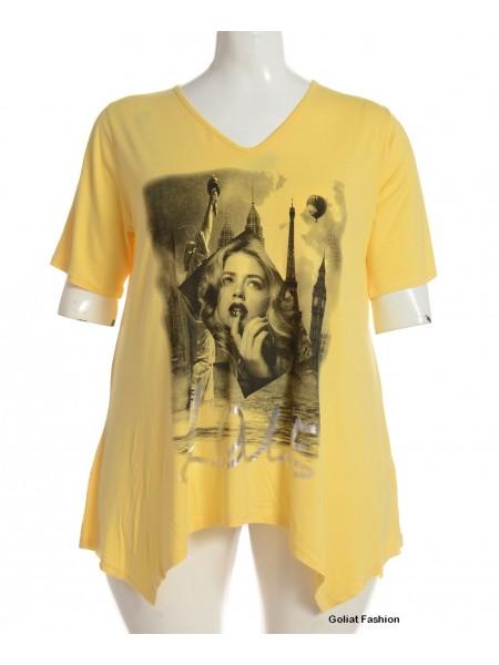 Tricou dama marime mare tricougf11d