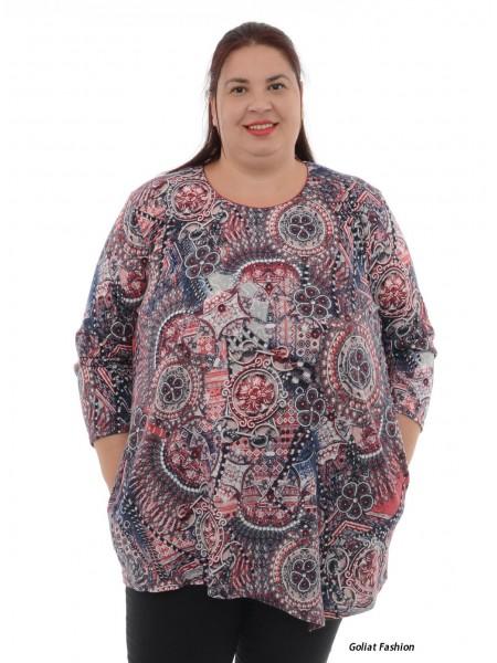 Bluza dama marime mare bluzaml17dgf