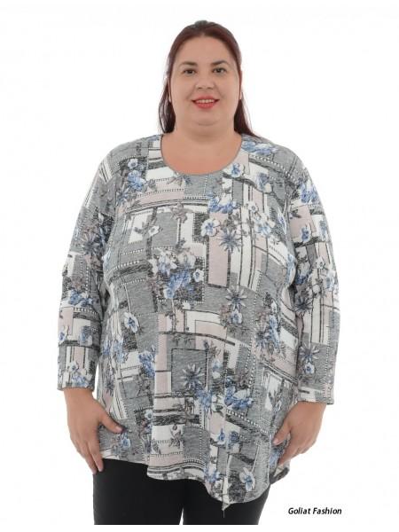 Bluza dama marime mare bluzaml19dgf