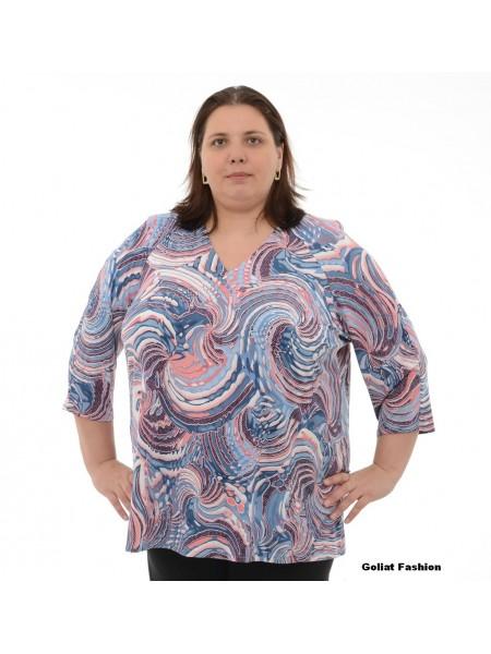 Bluza dama marime mare bluzams55gfd