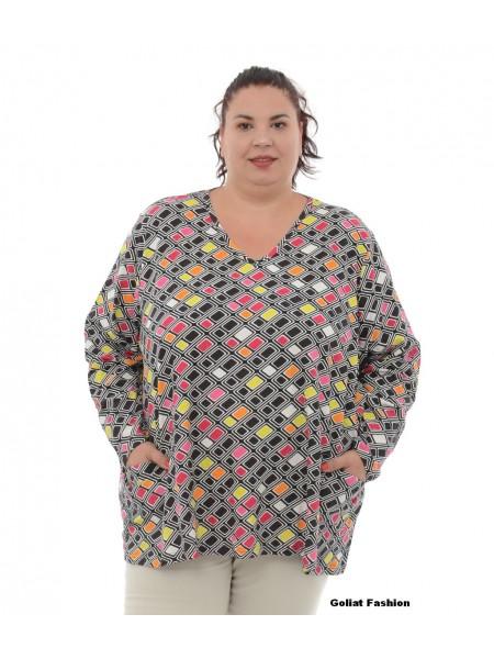 Bluza dama marime mare bluzaml18gfd