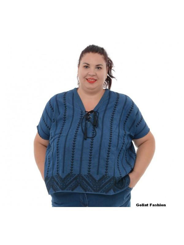 Bluza dama marime mare bluzams108gfd