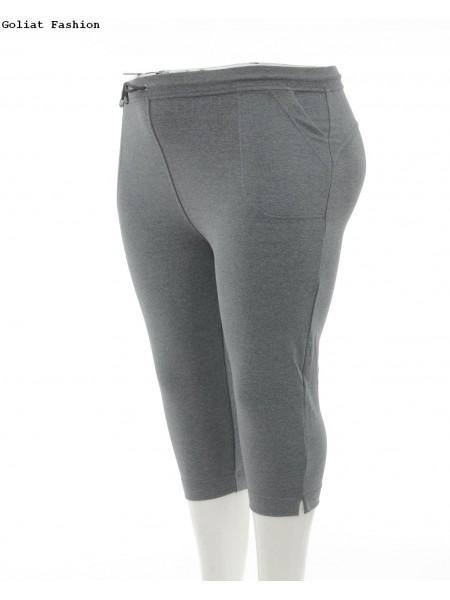 Pantaloni trening dama marime mare panttr5d