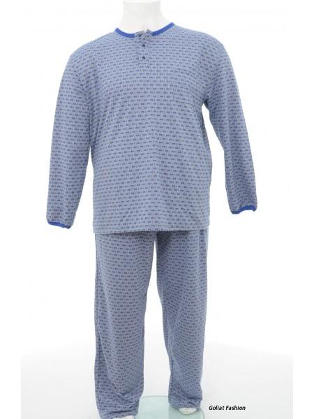Pijama barbati marime mare pijama1bgf