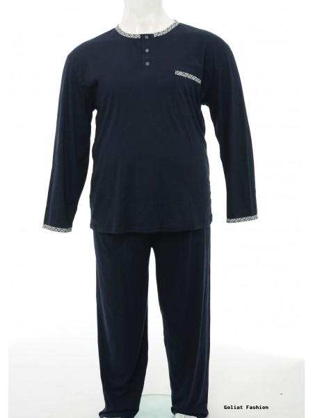 Pijama barbati marime mare pijama3bgf