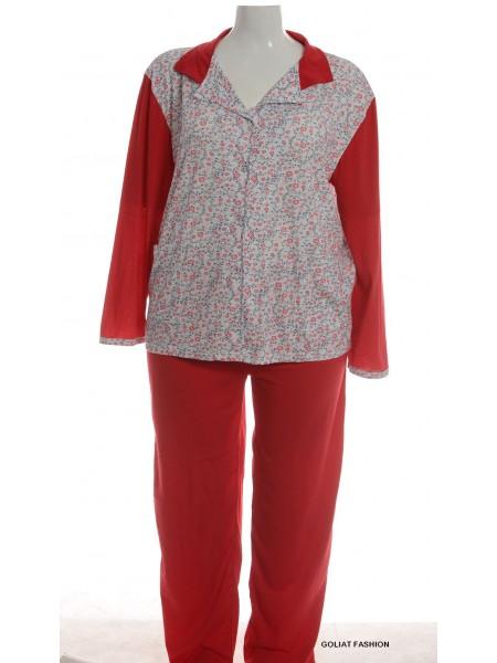Pijama dama marime mare pijama13d